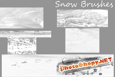 Brushes set - Snow