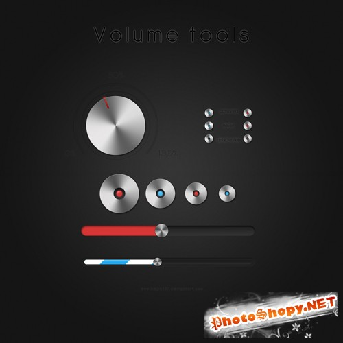 Volume tools PSD