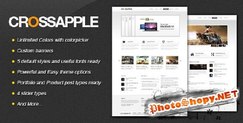 ThemeForest - Cross Apple - Clean Business WordPress Theme - Version 1.0.3