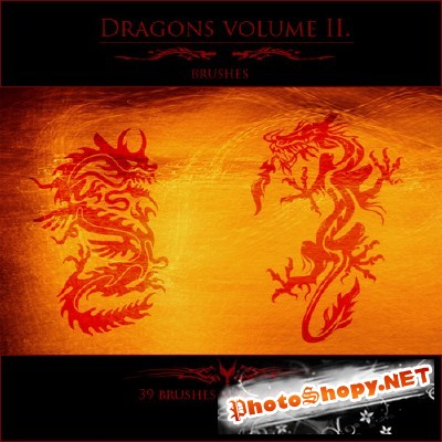 Dragons volume II brushes