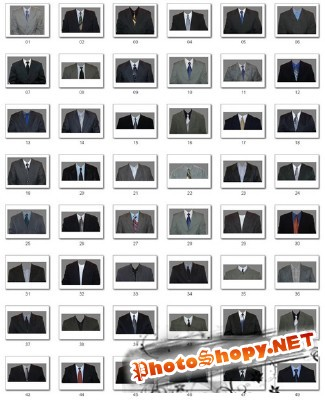 Men's Business Suits for documents