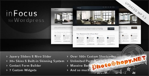 ThemeForest - inFocus - Powerful Professional Theme v2.4 for Wordpress 3.x