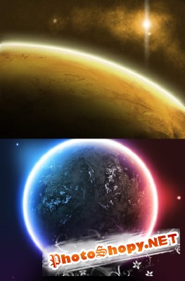 PSD for Photoshop - Space Art resource 2