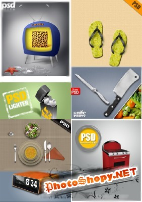 PSD collection for Photoshop 2011 pack # 78