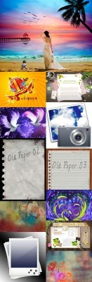 PSD collection for Photoshop 2011 pack # 83