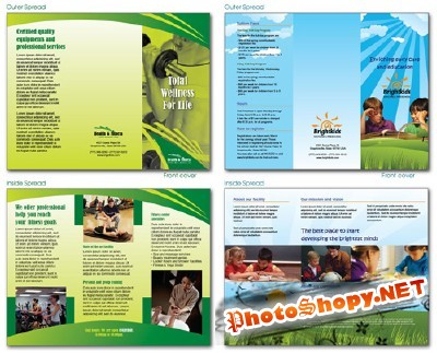 Fitness and School Brochures