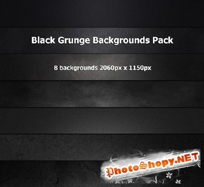 Black grunge backgrounds