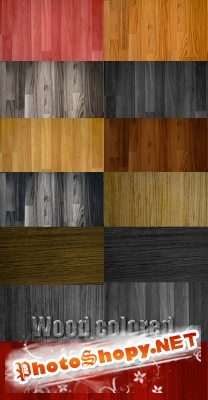 Wood colored textures FOR PHOTOSHOP