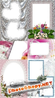 New Collection of Photo frames for Valentine's Day pack 8