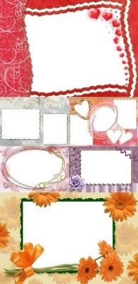 New Collection of Photo frames for Valentine's Day pack 9