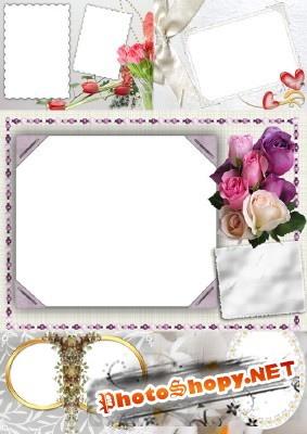New Collection of Photo frames for Valentine's Day pack 2