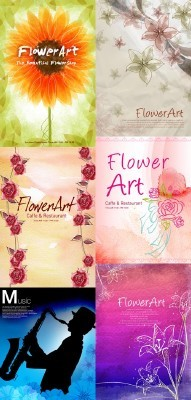 New PSD Flowers collection for Photoshop 2012