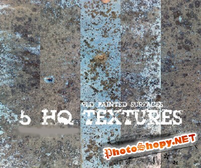 Old Painted Wall Textures for Photoshop