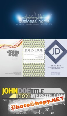 New Collection of Business Cards 2012 pack 3
