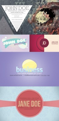 New Collection of Business Cards 2012 pack 4