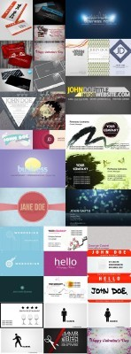 New Collection of Business Cards 2012 pack 7