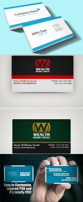 New Psd Business Cards for Photoshop