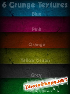 Grunge Textures pack for Photoshop