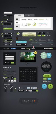 Futurico User Interface for Photoshop