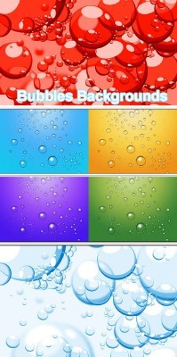 Bubbles Backgrounds for Photoshop