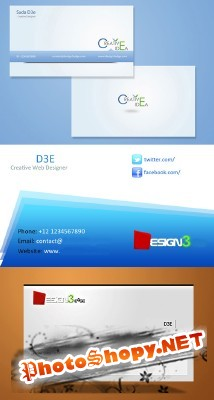 Modern Business Card Pack for Photoshop