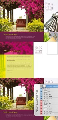 Real Estate Template  - Postcard