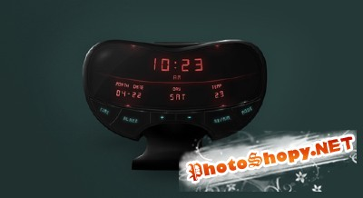 Clock Interface Psd for Photoshop