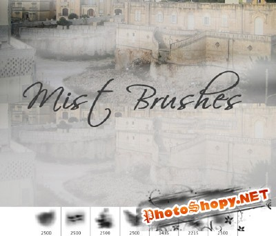 Mist Brushes Set