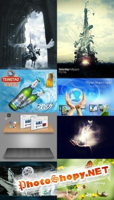 New PSD Source Collection for Photoshop 2012 pack 14