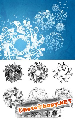 Frosted Flakes Brushes Set for Photoshop
