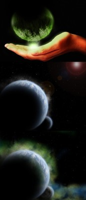 Planet Psd Set for Photoshop