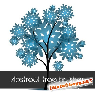 Abstract Tree Brushes for Photoshop