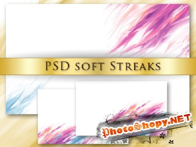 Soft Streaks for Photoshop