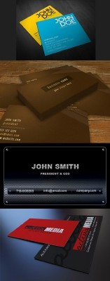 Business Corporate Card Template PSD Pack for Photoshop