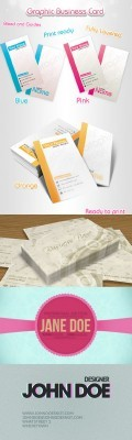 Graphic Designer Card Psd Pack for Photoshop