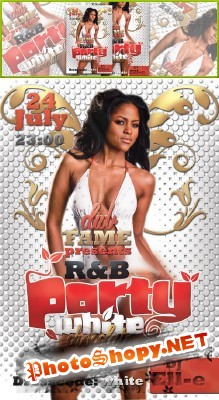 R&B Party Flyer Psd