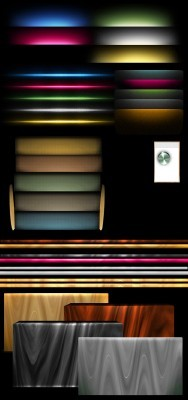 Vintage Old Fashioned Textures Pack PSD for Photoshop