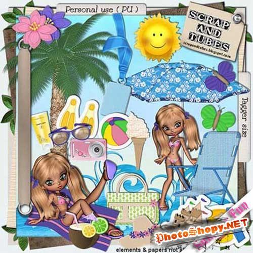 Скрап-набор - Летние забавы