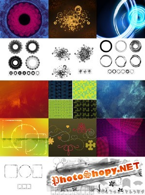 New Collection Brushes 2012 for Photoshop pack 21
