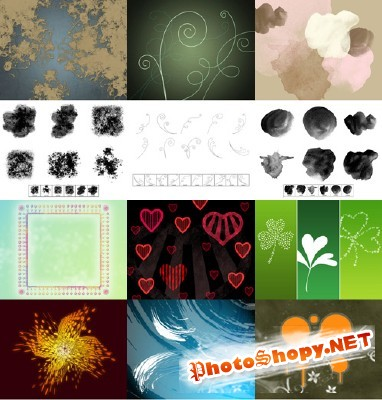 New Collection Brushes 2012 for Photoshop pack 20