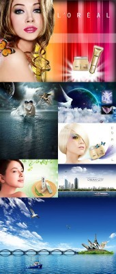 New PSD Source Collection for Photoshop 2012 pack 25