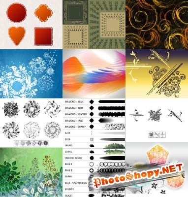 New Collection Brushes 2012 for Photoshop pack 23
