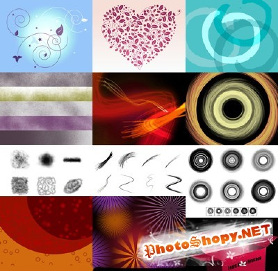 New Collection Brushes 2012 for Photoshop pack 22