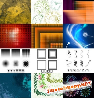 New Collection Brushes 2012 for Photoshop pack 25