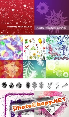 New Collection Brushes 2012 for Photoshop pack 27