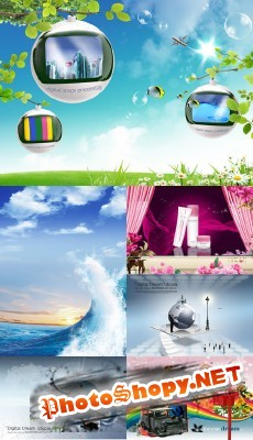 New PSD Source Collection for Photoshop 2012 pack 26