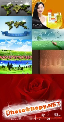 New PSD Source Collection for Photoshop 2012 pack 30