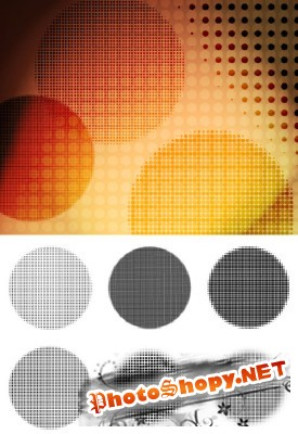 Pop Dots Brushes Set for Photoshop