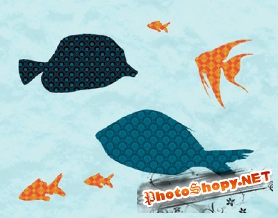 Tropical Fish Brushes Set for Photoshop