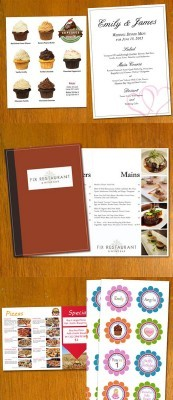 Restaurant Menu Template Psd Pack for Photoshop